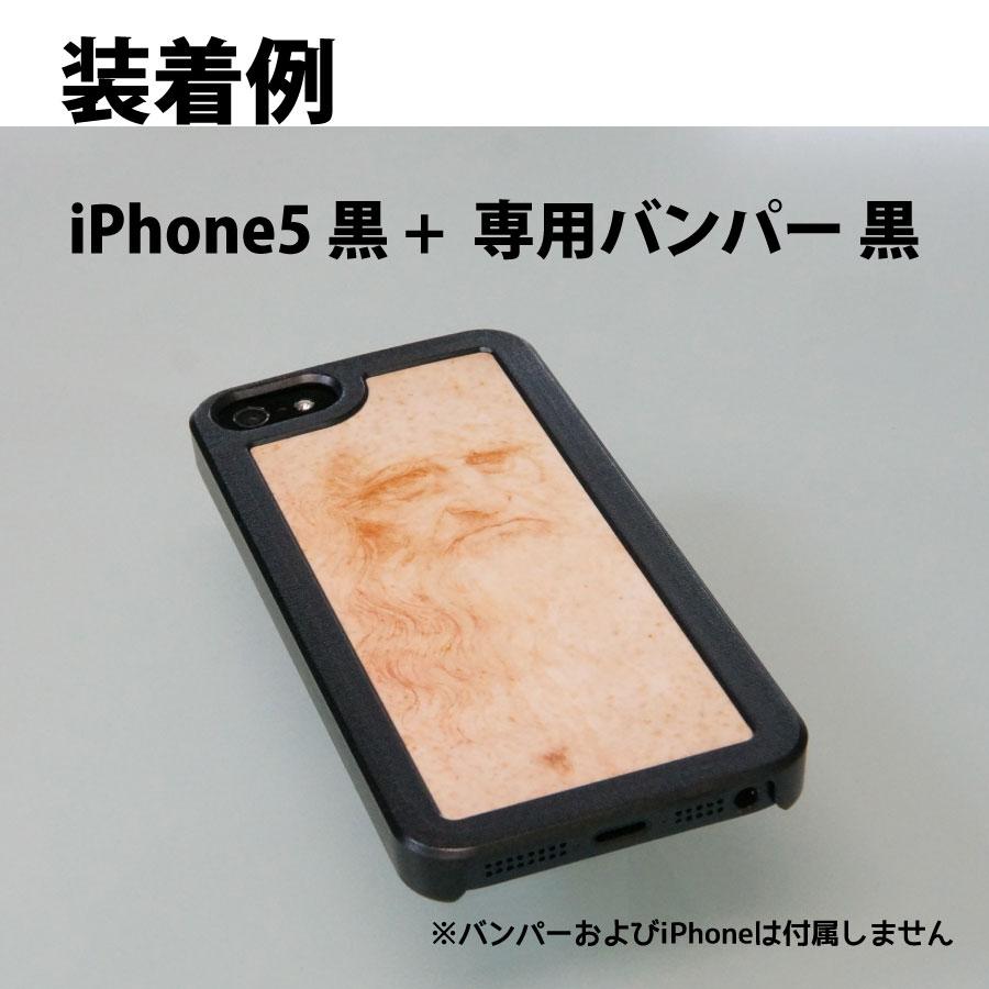 ChromaLuxe iPhoneケース装着例 レオナルド・ダ・ヴィンチ自画像